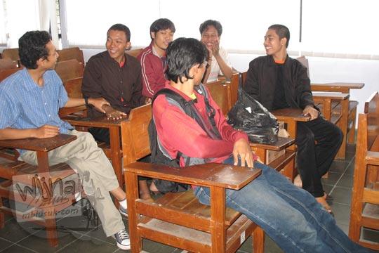 peserta pelatihan jurnalistik himatika ugm