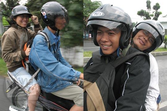 masa muda eka krisna santoso dan gunawan saputra usman naik sepeda motor