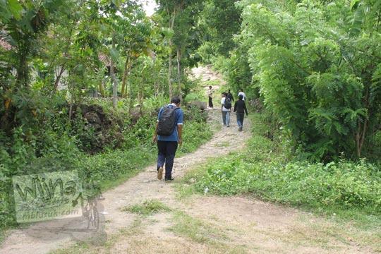 hutan di dusun pereng prambanan