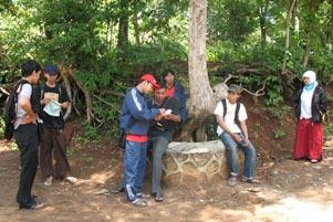 Survei Acara Upgrading di Perbukitan Prambanan