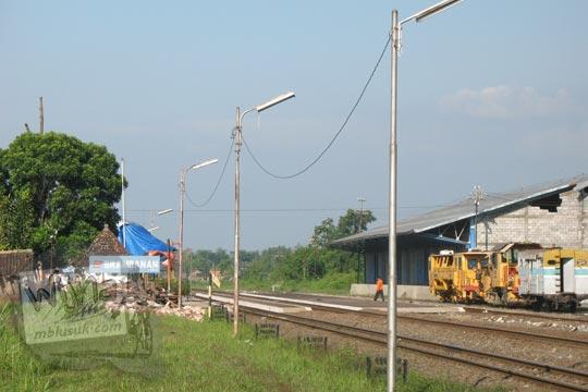 stasiun brambanan ketika gempa 2006