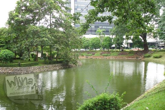 pesona danau manggala wanabakti pada zaman dulu