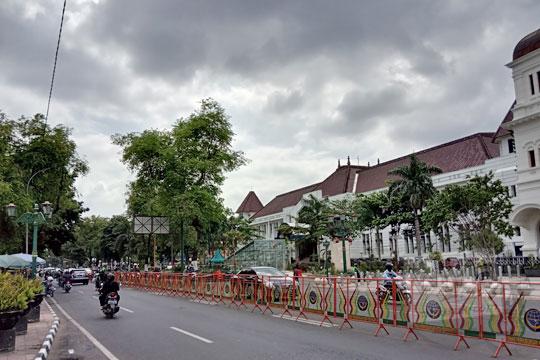 kampementsstraat atau jalan panembahan senopati di kota jogja pada masa kini