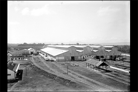 bangunan balai yasa pengok yogyakarta pada tahun 1925