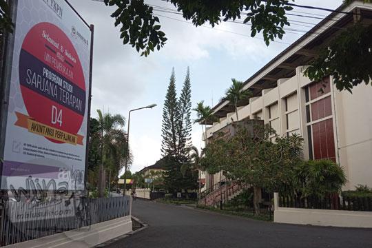kampus AA YKPN Yogyakarta pada zaman dahulu
