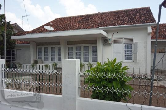 rumah tua dinas dosen AA YKPN Yogyakarta pada zaman dahulu