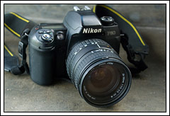 Review Lensa klasik Sigma 28-105 di Nikon F80