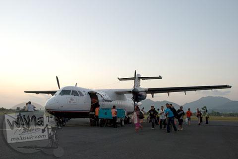 Tarif Tiket Murah Pesawat Perintis Trigana Air dari Bali ke Lombok