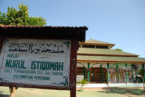 Penyebaran Islam di Gili Trawangan, Nusa Tenggara Barat pada Agustus 2009