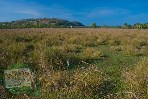 Padang Rumput tak terjamah di Gili Trawangan, Nusa Tenggara Barat pada Agustus 2009