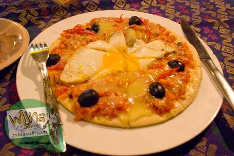 pizza lombok chili, nusa tenggara barat