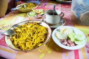 Mie Aceh Khas Bungong Jeumpa
