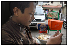 Foto Mie Kocok Bandung tahun 2009