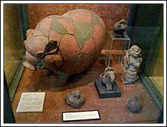 Celengan Purba di Museum Nasional pada tahun 2009