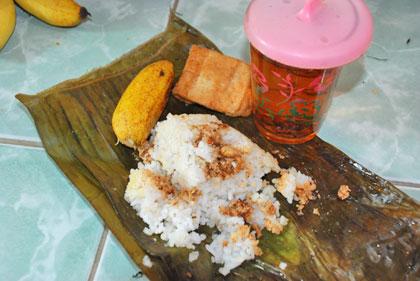 Nasi Megana makanan khas Kebumen dari kecamatan Alian