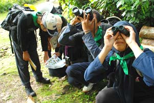 Nimbrung di Acara Nature Meet Science MATALABIOGAMA