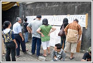daftar calon legislatif pada Pemilu legislatif Indonesia tahun 2009