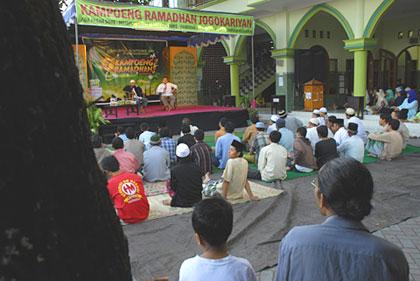 suasana kampung ramadan Jogokariyan tahun 2009