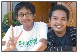 Kawan perjalanan ke Pacitan tahun 2009