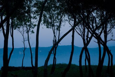 Suasana pantai Teleng Ria Pacitan tahun 2009