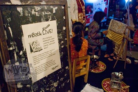 Mbatik Live di Pesta Blogger 2009 Chapter Jogja