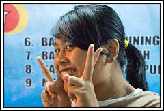 Foto Wayan Arminawati Mahasiswi Matematika UGM angkatan 2005