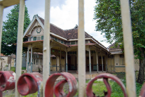 Foto Rumah Tua di Kotagede tahun 2009