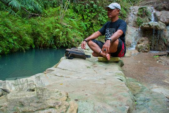 Sendang Koco Banyu Roso dan Sendang Panguripan yakni mata air mistis yang berada di dekat Kedung Pengilon sering digunakan pengunjung untuk berziarah dan sebagai lokasi semadi bertapa mencari pesugihan