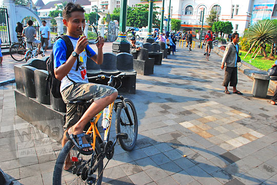 rute dari Kota Jogja ke air terjun curug seribu batu (cengkehan) di dusun Giriloyo, Wukirsari, Imogiri, Bantul, DI Yogyakarta
