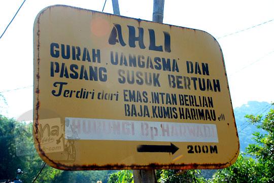 jasa gurah dan lancar uang di dusun Giriloyo, Wukirsari, Imogiri, Bantul, DI Yogyakarta