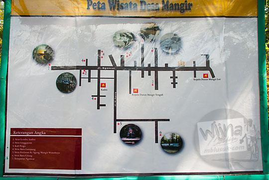 peta wisata sejarah desa mangir