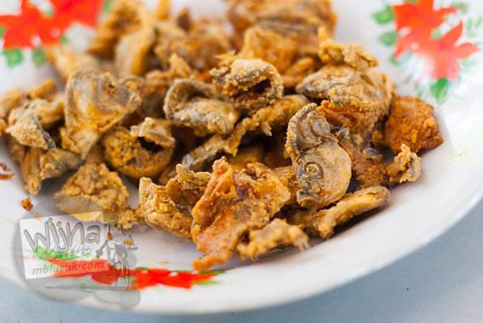 Wader goreng renyah gurih di menu rumah makan Legokan Ngancar, Pajangan, Bantul