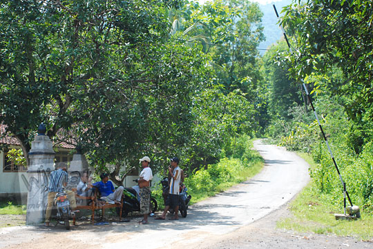 Tarif Tiket Masuk dan Retribusi di di Curug Indah Gedangsari, Gunungkidul, Yogyakarta pada Januari 2012