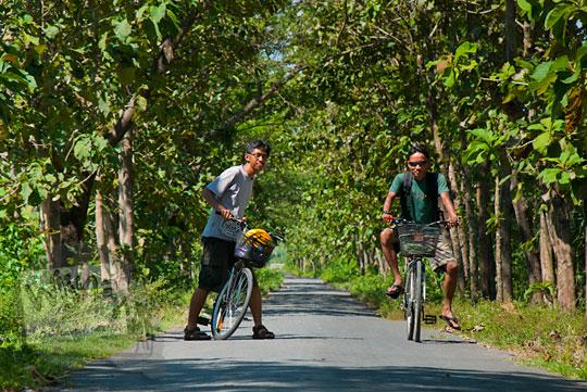 Cerita bersepeda ke curug air terjun bertingkat Nglarangan di Gedangsari Gunungkidul Yogyakarta yang indah perawan seksi pada zaman dulu Mei 2013