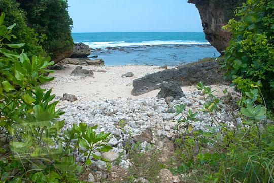 rute panduan arah menuju pantai ngunggah gunungkidul yang masih perawan dan tersembunyi pada zaman dulu Juni 2014