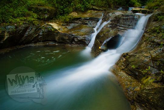 Air Terjun dan Sungai Kedung Gulo di Desa Kalitapas, Kecamatan Bener, Kabupaten Purworejo, Jawa Tengah