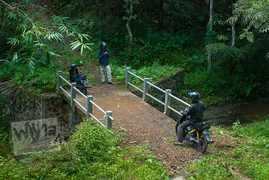 Jembatan antah berantah di dekat Curug Sedayu (Klanceng Putih)