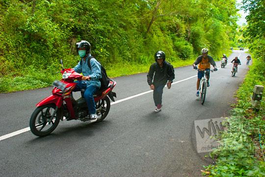 Rute bus wisata menuju Taman Wisata Kedung Sidandang dari Kota Yogyakarta dan Kota Solo