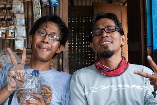 pesepeda sekaligus blogger kondang Yogyakarta bernama Om RD alias Om WaRM alias Ridwan Syarani