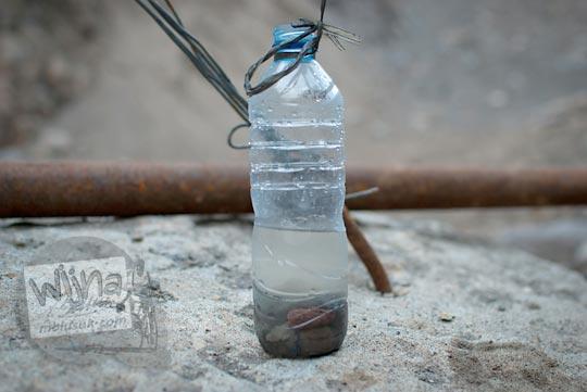sampel air yang diperoleh dari mata air Bebeng