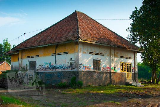 Cerita Mistis dan Sejarah Rumah Dinas Kepala Stasiun Patukan, Ambarketawang, Yogyakarta