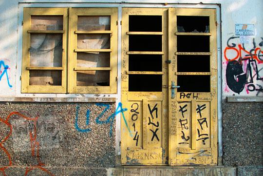 Rumah Dinas Kepala Stasiun Patukan, Ambarketawang yang tidak terawat