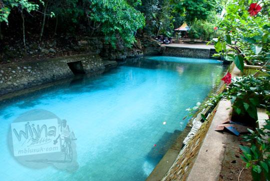 kolam renang anak-anak yang ada di sekitar kawasan Air Terjun Bantimurung