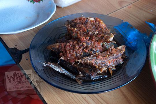 ikan sambal balado khas malino