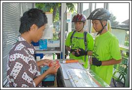 Sepeda tanggap bencana Yogyakarta Desember 2009
