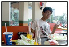Makan Murah di KFC Yogyakarta tahun 2008