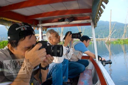 Suasana Hunting Foto Rawa Pening di Ambarawa di tahun 2009
