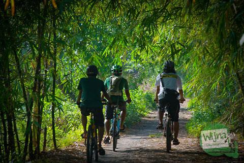 sampang gedangsari luweng Gunungkidul gantiwarno klaten jogoprayan curug airterjun alam jalan sepeda