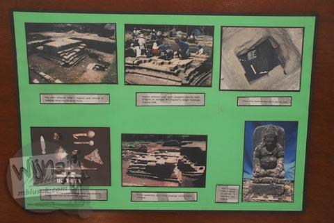Foto-foto pemugaran Candi Gampingan di Museum Purbakala Pleret, Bantul, Yogyakarta