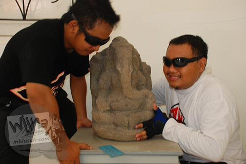 Pencuri arca purbakala beraksi di Museum Purbakala Pleret, Bantul, Yogyakarta